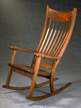 Walnut Rocking Chair by Craig Nutt