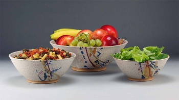Matte White TA Bowls - Timothy Weber (Select from 3 Sizes)