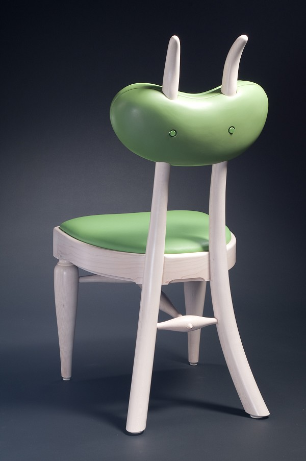 Butterbean Chair by Craig Nutt - back view